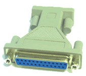 9 Pin Male to 25 Pin Female Adapter