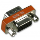 Null Modem Mini Adapter - DB9M-DB9F