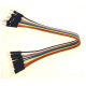 Solderless jumper cable - 10W male to male - 20 cm