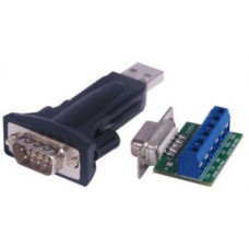 USB to RS422 / RS485 Converter 9 Way + 1M Extension Cable (FTDI USB to RS-422 / RS-485 Dongle)