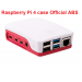 Official Raspberry Pi 4 Case, Box Red and White