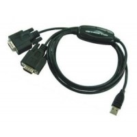 USB to Dual Serial Adapter - FTDI (USB to 2 port Serial FTDI)
