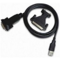 USB 2.0 to Serial Adapter with 9 to 25 pin adaptor