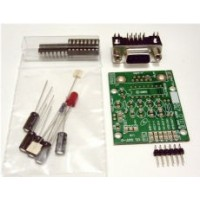RS232 Male to TTL (3.3V Signal) Converter Kit - DTE Version - Kit Version