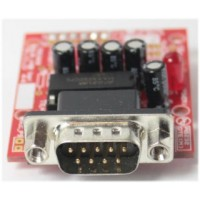 RS232 Male to TTL Level Converter (3.3V Signal) Breadboarder - DTE Mode