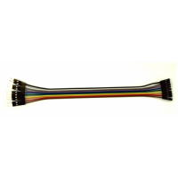 Solderless jumper cable - 10W male to female - 20 cm