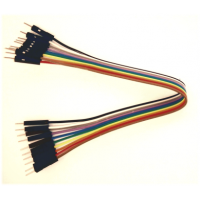 Solderless jumper cable - 10W male to male - 10cm