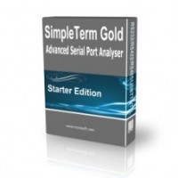SimpleTerm Gold - Starter Edition (RS232 COM Port Analyser / RS232 Terminal)