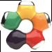 Colourful Twisting Flower Shape 4 Port USB 2.0 Hub