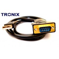 USB to Serial Cable - FTDI Pro Gold Plated - RS232 90cm