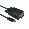 USB C to VGA 1080P @ 60HZ USB3C-VGA-2M