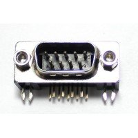 DB9 Male Right Angle PCB Connecter (9 Pin DSUB)