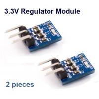 AMS1117-3.3 Module DC 5V to 3.3V Step-Down Power Supply 2pcs