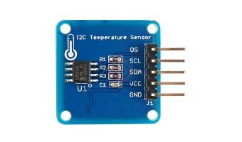 LM75A I2C Digital Temperature Sensor Board Module for Arduino