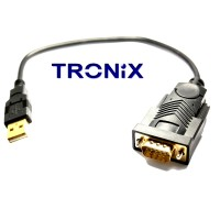 USB to Serial Adapter - FTDI Pro Series (Gold Plated)