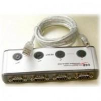 USB Quad Serial Converter - 4 Port FTDI
